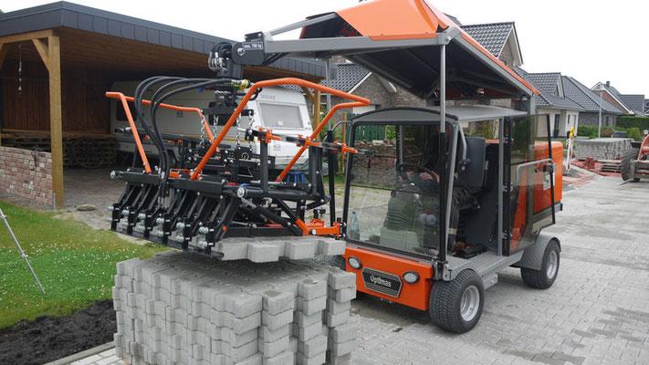 Máquina de colocación de adoquines Optimas S-19