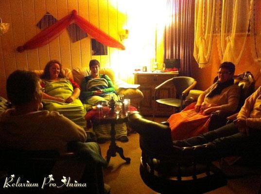 Workshop - Vor der schamanischen Reise mit 7 Teilnehmern