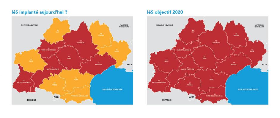 exemple de graphisme de carte régionale