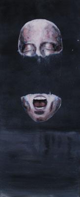 """Disunitas"" (2014), Acryl auf Holz"
