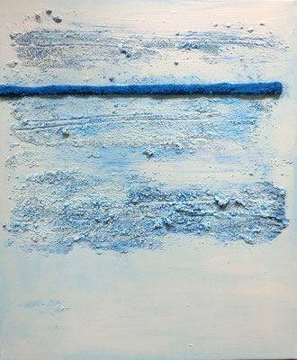 horizons bleus, 61 x 50 cm, 2016, vendu