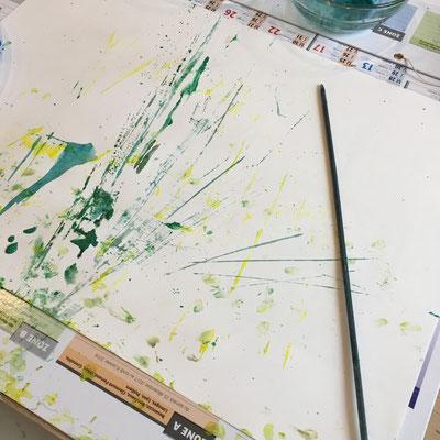 jeu de l'artiste en herbe, atelier idéephémère, 64260 Bielle