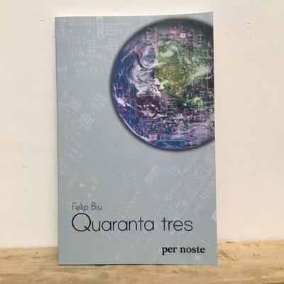 création d'une illustration pour la couverture du livre Quaranta tres de Felip Biu, 2019