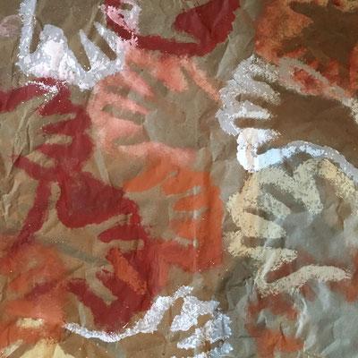 art rupestre, atelier idéephémère, 64260 Bielle