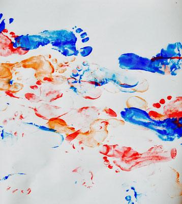 je peinds comme un pied!, atelier idéephémère, 64260 Bielle