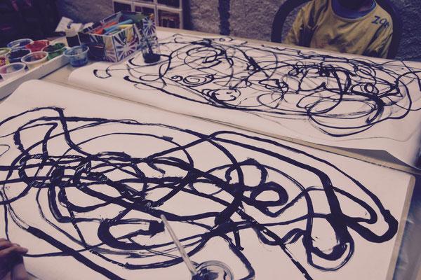 arabesques en musique, atelier idéephémère, 64260 Bielle