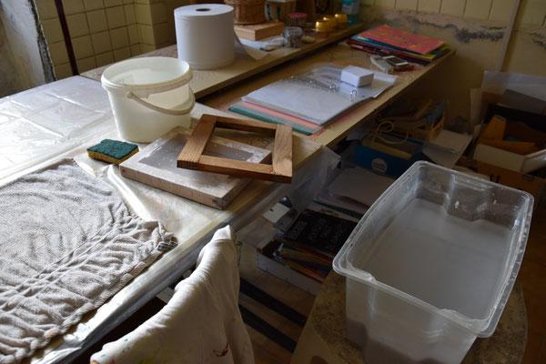 laisser créer les petits papiers, atelier idéephémère, 64260 Bielle