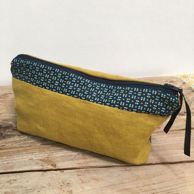 trousse, création textile Marie Donnot, atelier idéEphémère, 64260 Bielle