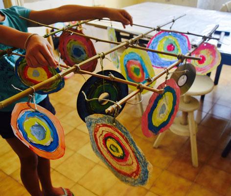 concentric circles, atelier idéephémère, 64260 Bielle