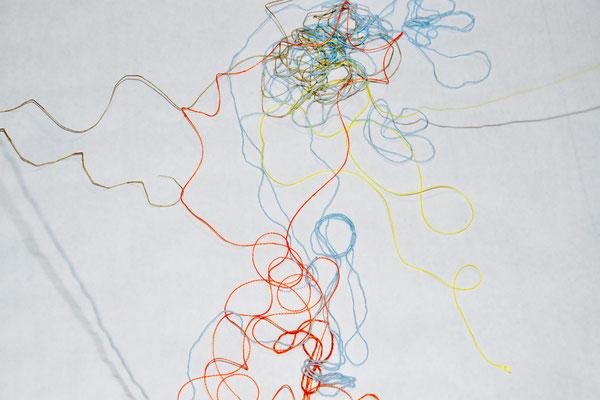 gribouillons de laine et de ficelle, atelier idéephémère, 64260 Bielle