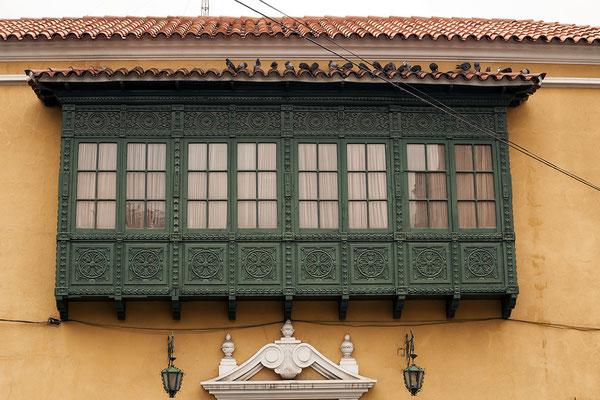 Balkon in Potosi