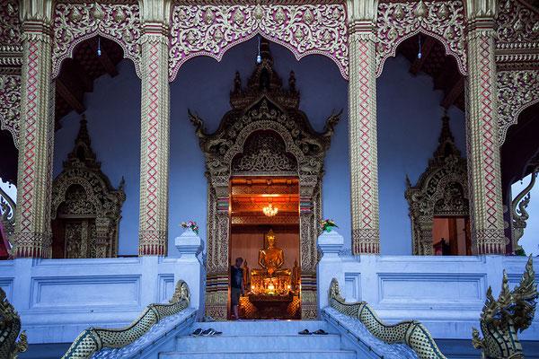 Tempeleingang in Luang Prabang Laos