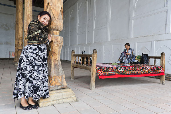 Im Fergana Tal Usbekistan