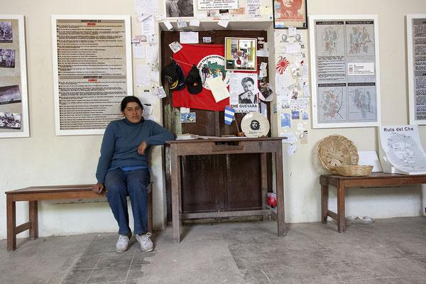 Schulhaus von La Higuera in Bolivien