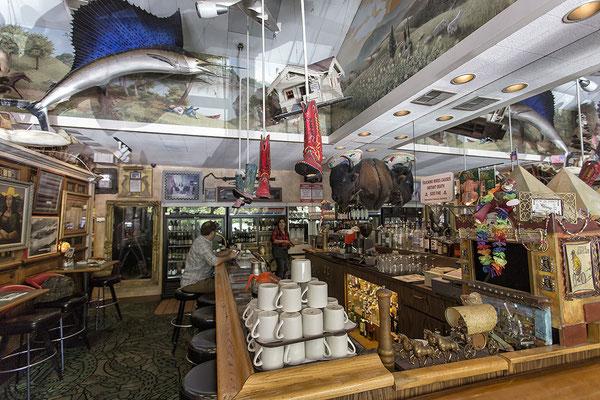 In Buck´s Restaurant in Woodside