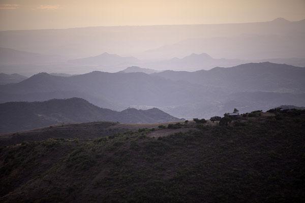 Landschaft bei Lalibela Äthiopien