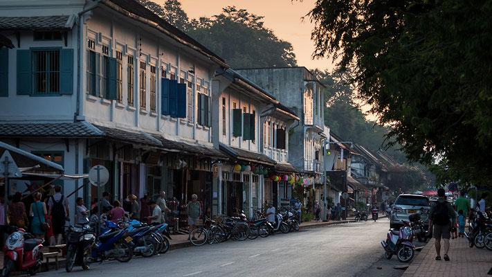alte Königsstadt Luang Prabang / UNESCO als Welterbe Laos