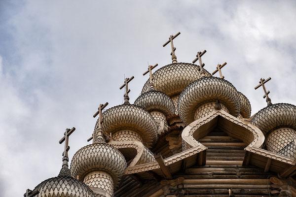 Holzkirchen von Kischi Pogost