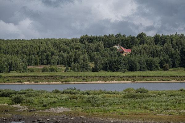 Landschaft an der Wolga