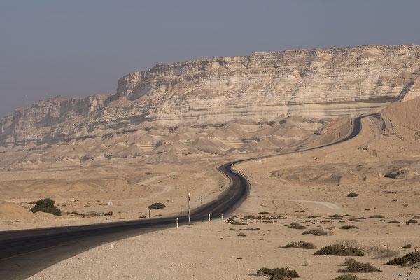 Auf dem Weg nach Ash Shuwaymiyyah Oman