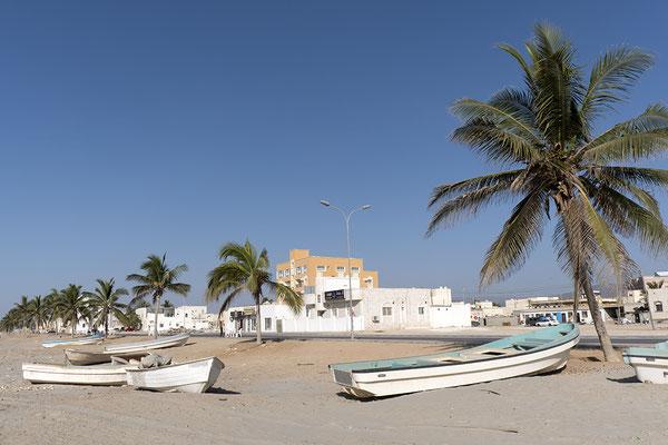 An der Küste des Omans Oman