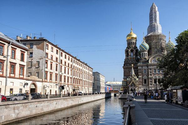 Sankt Petersburg: Auferstehungskirche