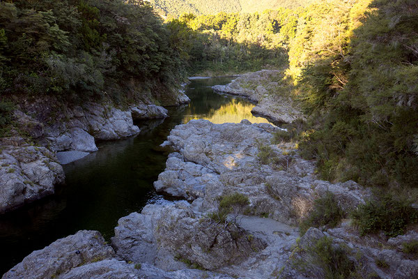 Pilorus River, Südinse, Neuseeland