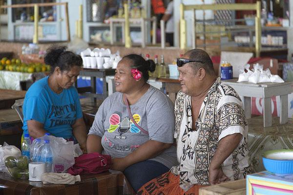 Auf dem Markt in Apia