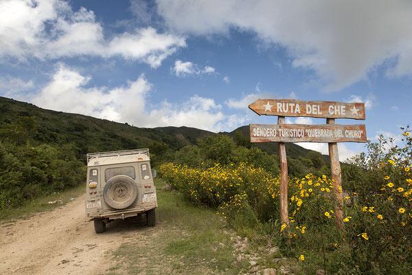 Auf der Ruta del Che in Bolivien
