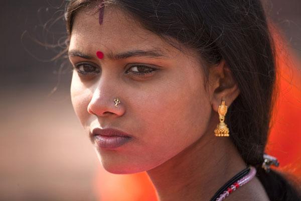 Inderin in Nagar Bihar Indien