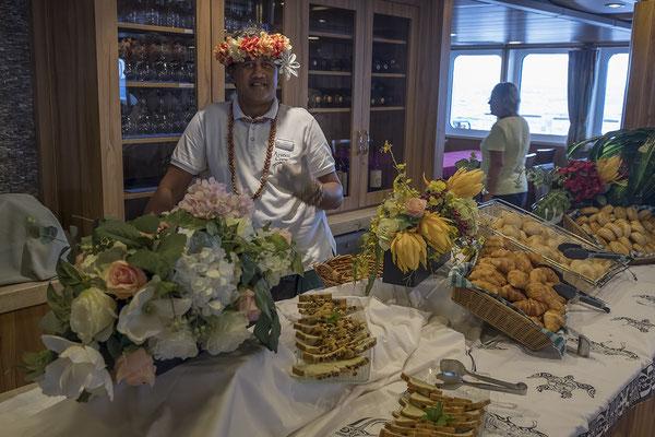Service auf der Aranui 5