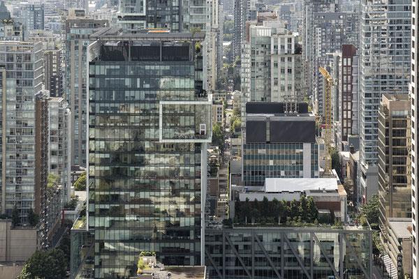 Sicht auf Vancouver vom Harbour Tower Kanada