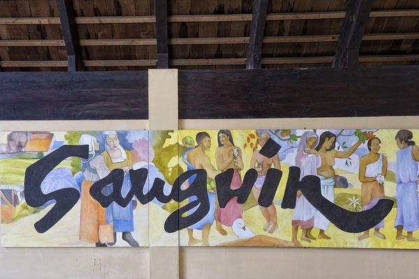 Museum über Paul Gauguin in Atuona auf Hiva Oa