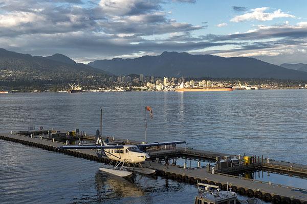 Hafen von Vancouver Kanada