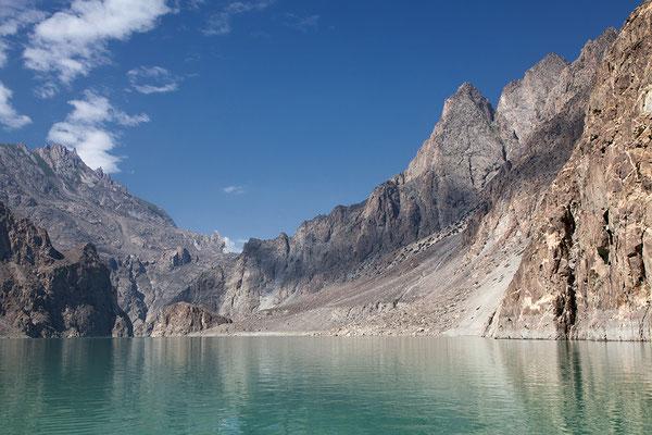 Atta Abad See in Nordpakistan Pakistan
