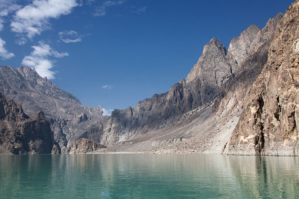 Atta Abad See in Nordpakistan, Pakistan