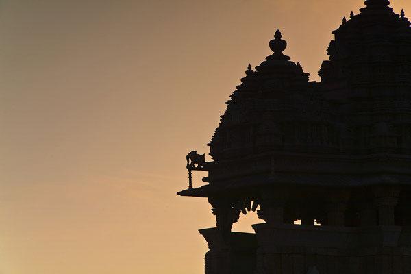 Im Tempelbezirk von Khajuraho Indien