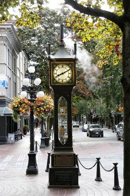 Steamclock in der Altstadt von Vancouver