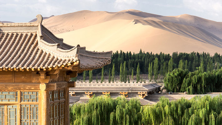 Dunhuang in Westchina China