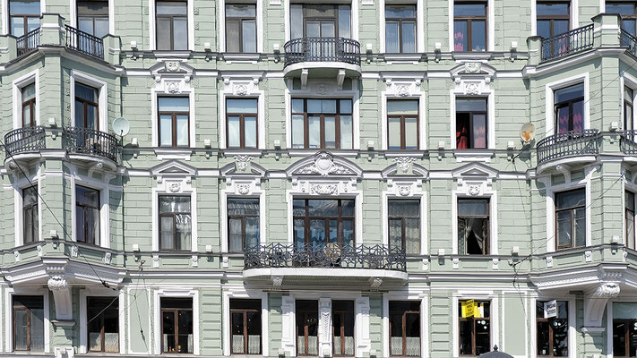 Haus am Newski-Prospekt