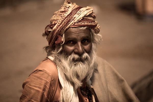 Sadu in Varanasi Indien