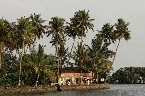 Backwaters Kerala Indien