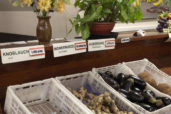 Im Supermarkt der deutschstämmigen Mennoniten in Filadelfia