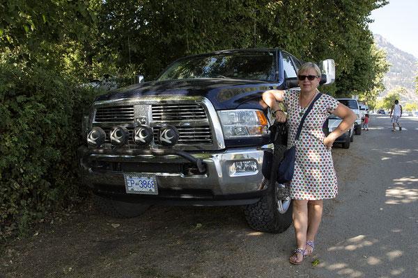 Große Autos in Kanada