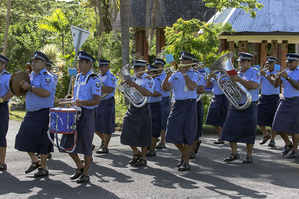 """""""Samoa Police Band"""" iin Apia"""