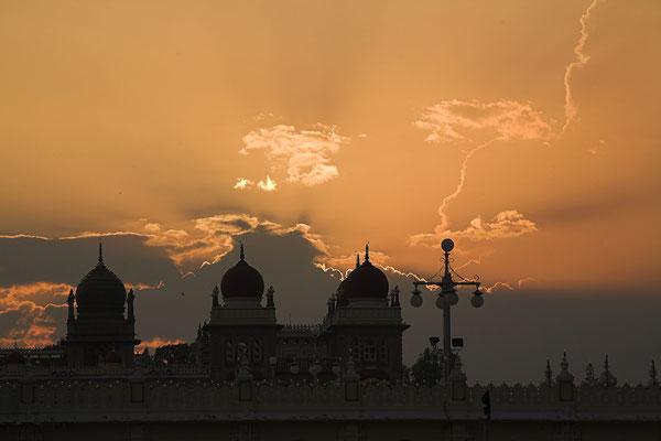 Maharaja-Palast in Bangalore Indien