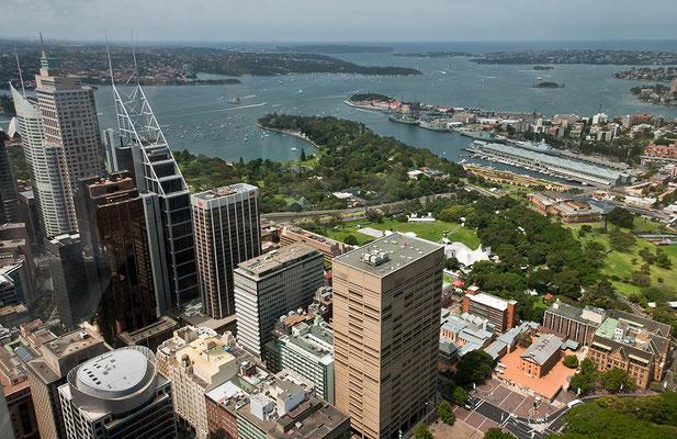 Sydney von oben Australien