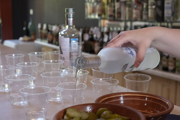 Wodka-Probe