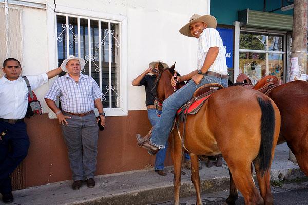 Sabaneros zu Pferde in Liberia Costa Rica