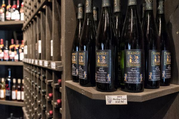 Erlesene Weine des Weingutes Hainle organic and Deep Creek in Peachland Kanada